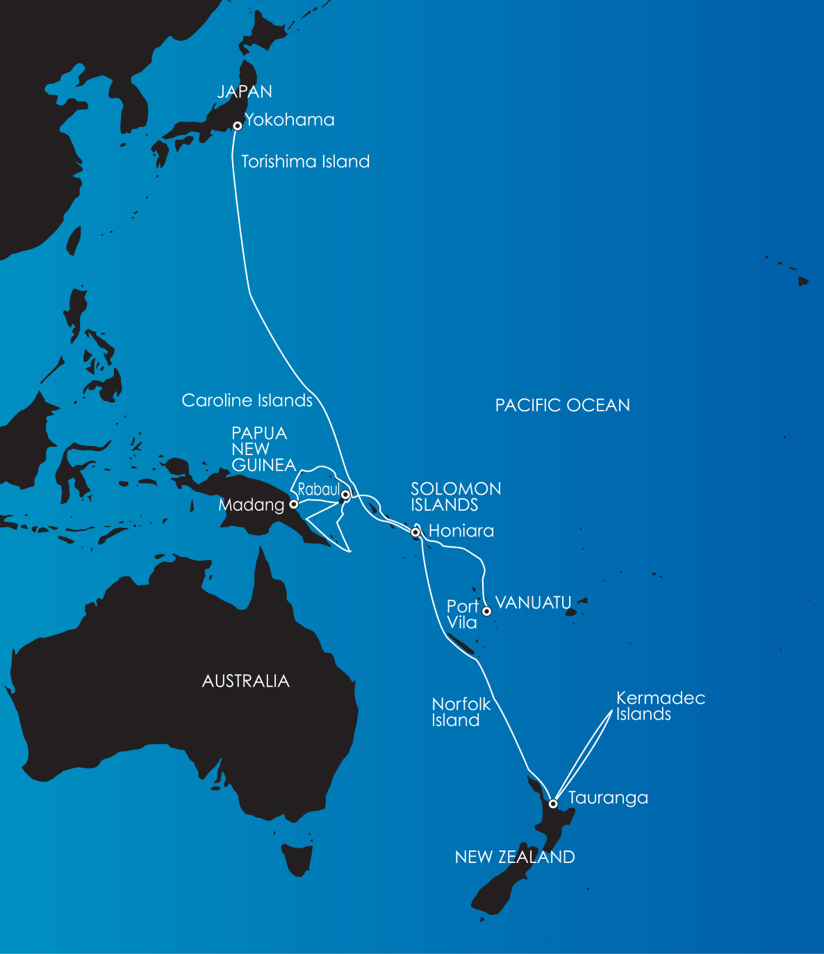South Pacific Expedition Cruise PNG Vanuatu  the Solomons