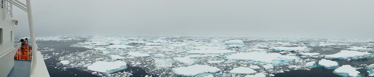 (c) kwells pack ice in the southern ocean