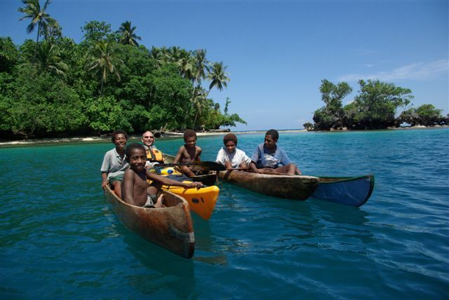 Kayaking in Papua New Guinea, the Solomon Islands and Vanuatu
